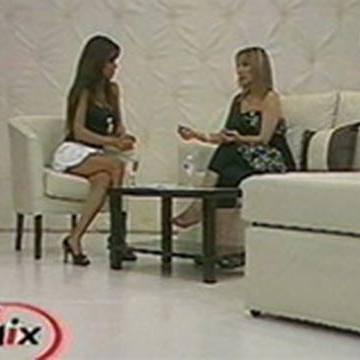 """Programa """"TV MIX"""" Conducido por Marina Calabró Canal 26"""